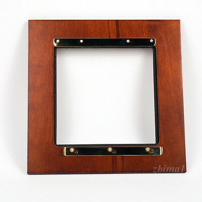 """1 ADAPTER  9 x 9"""" for 6 x 6"""" RC  boards to CENTURY ROCHESTER 8x10, Plywood/Brass"""