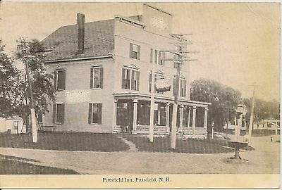 Pittsfield Inn Pittsfield NH Postcard