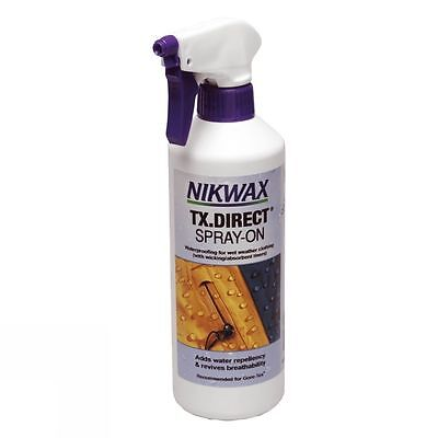 Nikwax TX.Direct Spray-On 500ml Waterproofing For Wet Weather Clothing