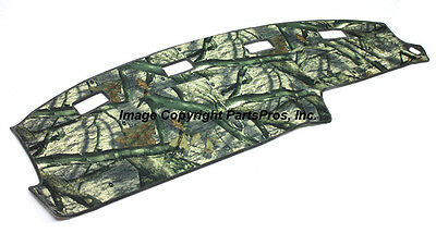 NEW Mossy Oak Treestand Camo Camouflage Dash Mat Cover FOR 1997-99 CHEVY C//K