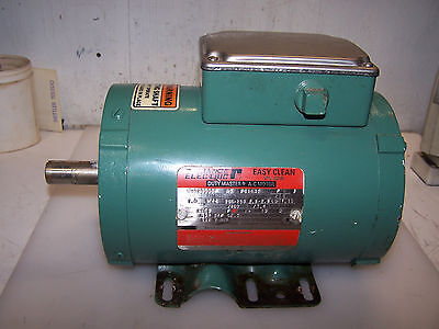 RELIANCE 1 HP EASY CLEAN PLUS AC ELECTRIC MOTOR FC143T 1725 RPM 208-230/460 VOLT