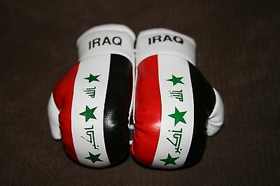 TURKISH FLAG Mini Boxing Gloves Ornament *NEW* TURKEY