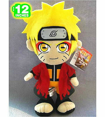 "Anime Naruto Sage 30cm/12"" Plush Toy Doll Cosplay"