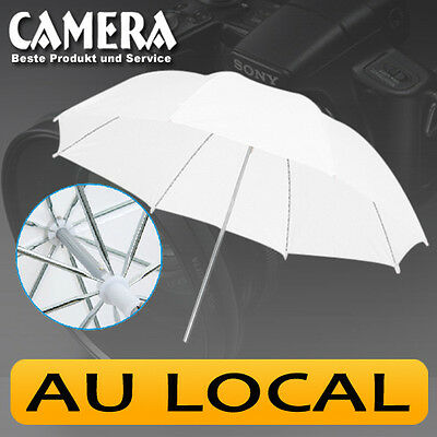 "33"" inch 84cm Light Softbox Photo Studio Flash Translucent White Soft Umbrella"