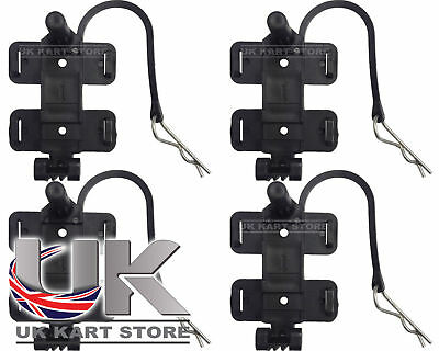 AMB 160 / 260 Standard & Flex Transponder Holder with R Clip x 4 UK KART STORE