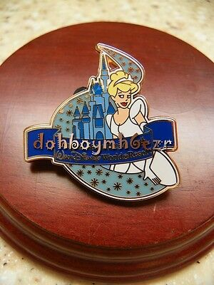 Walt Disney World Resort Cinderella Lapel Pin