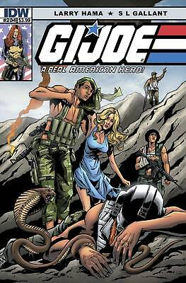 G.i.joe Real American Hero #204 (Idw Comics) Boarded. Free Uk P+P! New! Last 1!