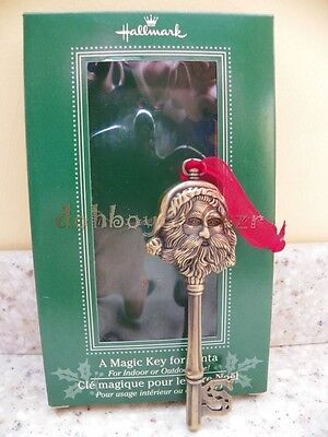Hallmark 2003 A Magic Key for Santa Christmas Ornament