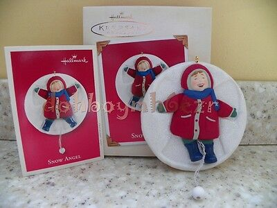 Hallmark 2003 Snow Angel Child Christmas Ornament