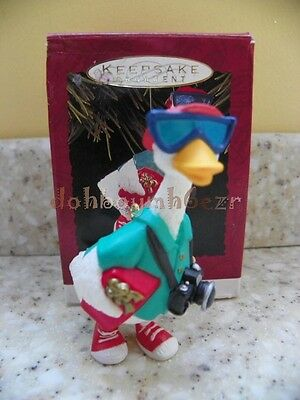Hallmark 1993 Snowbird Vacation Christmas Ornament