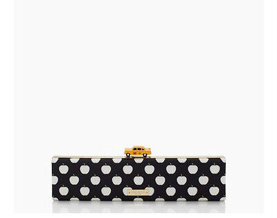 "Kate Spade New York ""Far From The Tree"" Taxi / Off Duty Clutch Handbag *New*"