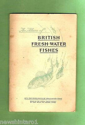 #d125. 1934  Fish Card Set In Album - British  Freshwater Fishes