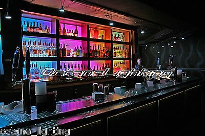 LED RGB Color Changing Bottle Rack Bar Back Hookah Lounge Table Night Club Light