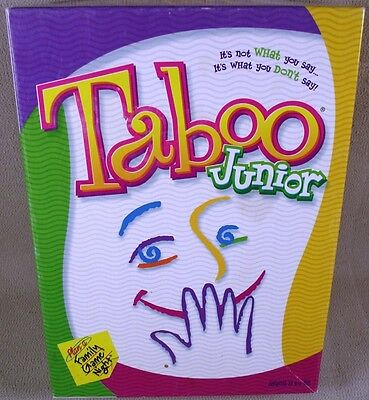 TABOO JUNIOR Game 2001 - Ex Condition!  100% Complete!