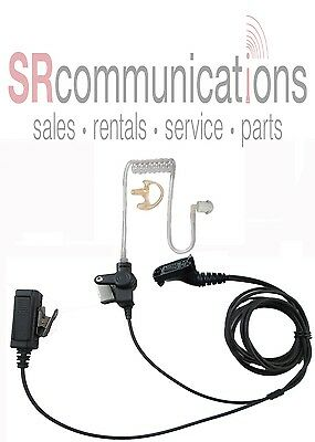 Tactical Police Headset W PTT Motorola XPR6380 XPR6350 XPR6550 XPR7350 XPR7550