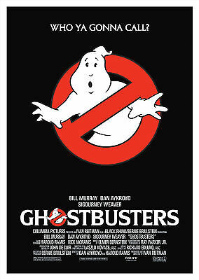 Ghostbusters (1984) V2 - A1/A2 Poster **BUY ANY 2 AND GET 1 FREE OFFER**