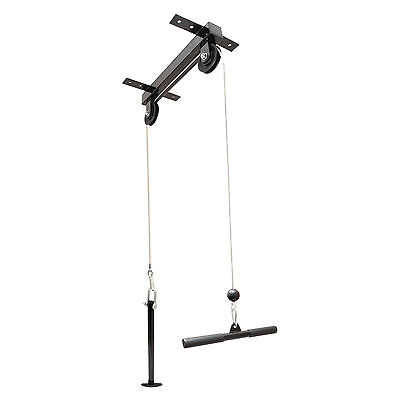 Ceiling mounted lat station