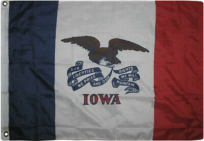 3x5 State of Iowa Flag 3'x5' Banner Super Polyester