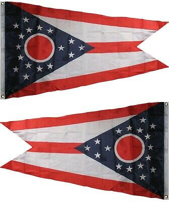 3x5 State of Ohio Flag 3'x5' Banner Super Polyester