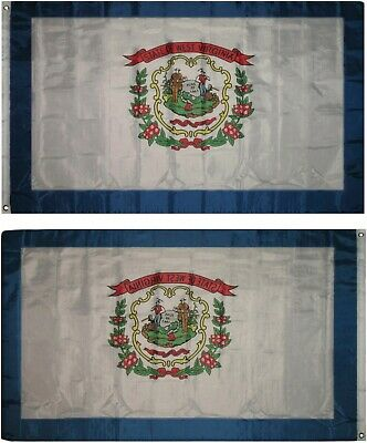 3x5 State of West Virginia Flag 3'x5' Banner Super Polyester