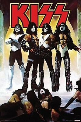 KISS LOVE GUN POSTER NEW  !