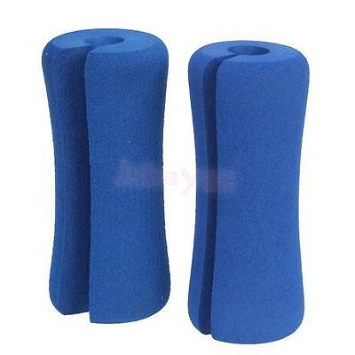 2PCs EVA Sponge Grip Pads Pull Up Chin Up Barbell Bar Doorway Gym Sports Fitness