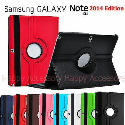Rotate Leather Case Cover for Samsung Galaxy Note 10.1 2014 Edition P600, P605