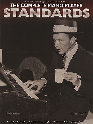 The Complete Piano Player Standards Sheet Music Book