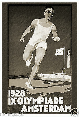Steve Prefontaine Track Poster//Print 2 /'Sacrifice the Gift../'  17x22 inch