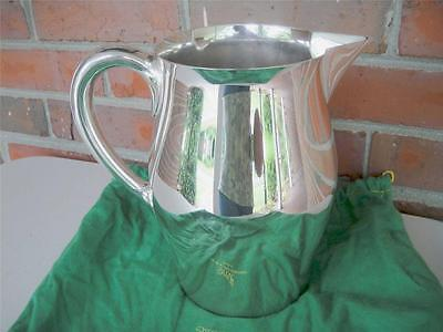 Estate Reed & Barton Pitcher 5660 Silverplate 9 1/2 HP Polished Very Good Cond.