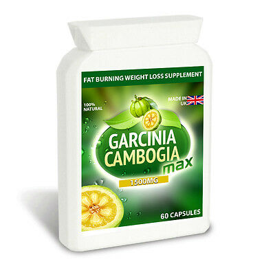 GARCINIA CAMBOGIA MAX PURE 1500MG Slimming Pills Diet Tablets LOSE WEIGHT FAST