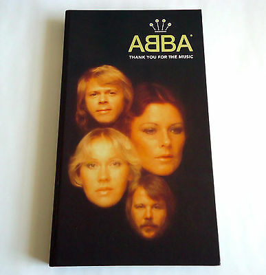 ABBA Thank You For The Music JAPAN 4 CD BOX 2001 L/E UICY-7076/9 RARE