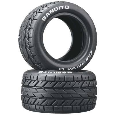 NEW Duratrax Bandito 1/10 Buggy Tire Rear 4WD C3 (2) DTXC3976