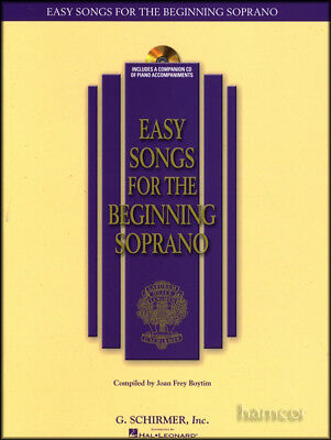 Easy Songs for the Beginning Soprano Vocal & Piano Sheet Music Book Singing Sing