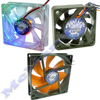 Cool4ce Computer/PC Case Heatsink/Cooler/Extractor Fan/Axial Fan; Finger Grill