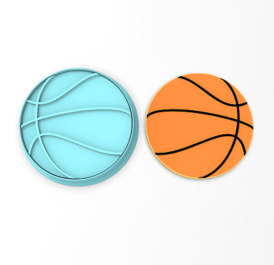Basketball Cookie Cutter. CHOOSE YOUR OWN SIZE!