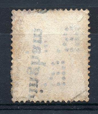 GB = Commercial PERFIN `B L / F.`. Good/Fine Used G5 Six Pence