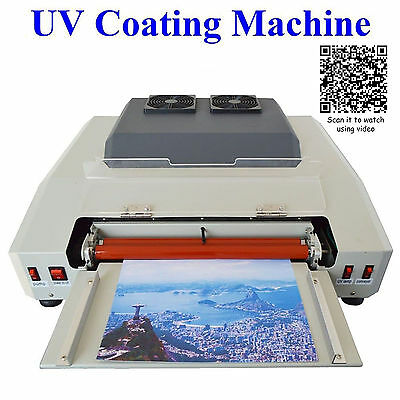 330mm A3 Szie Wide UV Laminating Photo Picture Protect Coating Laminator Machine