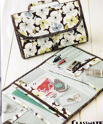 PATTERN - Classmate - hold-all pouch PATTERN with lot of pockets - Atkinson