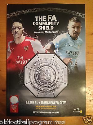 2014 Community Shield *(Manchester City V Arsenal)* (10/08/2014)