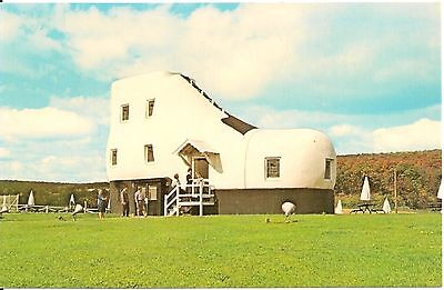 Haines Shoe House Lincoln Highway East of York PA Postcard