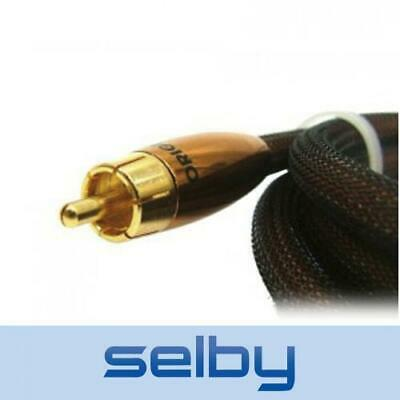 Neotech Origin High End 7mm Digital Coaxial Subwoofer Audio Cable 75 Ohm OFC