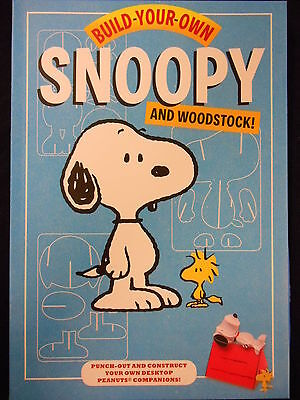 Build-Your-Own Snoopy And Woodstock Kit (Chronicle Books) Free Uk P+P! New!