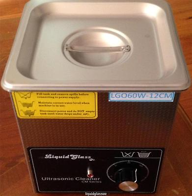 New Ultrasonic Cleaner 1.2L 60W Commercial Grade