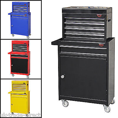 Medium Tool Chest Top Cabinet Top Box And Rollcab Box