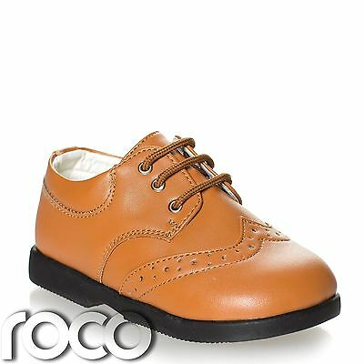 Boys Tan Shoes, Boys Formal Shoes, Boys Wedding Shoes, Prom Shoes, Baby Shoes