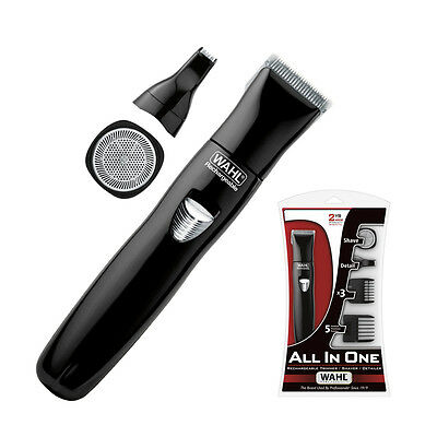 WAHL ALL IN ONE Trimmer/Shaver/Detailer Rechargeable - Cordless Beard Body Hair