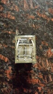 My2F 24Vac Omron My2 Cube Relay 8 Pin 24V Dc Coil