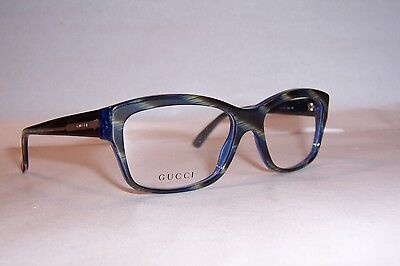 NEW GUCCI EYEGLASSES GG 3205 GG3205 Y0A BLUE GREEN 53mm RX AUTHENTIC