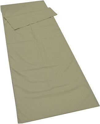 Camping Inner Envelope/Rectangle Sleeping Bag Liner Sheet Polycotton Equipment